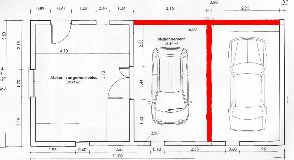 Dimension Standard Garage Obasinccom - Dimension porte de garage standard